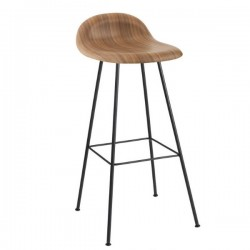 Gubi 3D Bar Stool Un-Upholstered Center Base