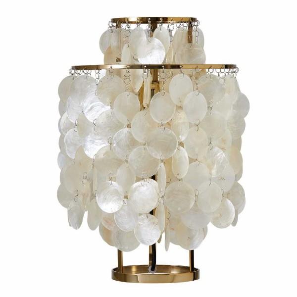 Verpan Fun 2TM Table Lamp Brass Finished