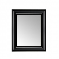 Kartell Francois Ghost Mirror Medium Black