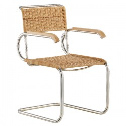 Tecta D40 Natural Cane Breur Chair