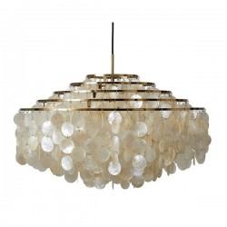 Verpan Fun 11DM Pendant Light Brass Finish