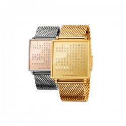 QLOCKTWO W35 Copper Watch