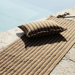 Ferm Living True Cushion  & Quilted Rolling Mat
