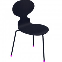 Fritz Hansen Ant Chair Colored Ash 3100 Monochrome (3 Legs)