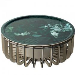 Ibride Medusa Vibration Emerladd Grey Coffee Table 65