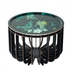 Ibride Medusa Vibration Emerladd Grey Coffee Table 46