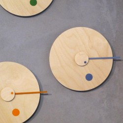 Duo Design Loop Clock Grey...