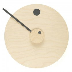 Duo Design Loop Clock Grey Sale