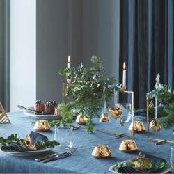 Georg Jensen 2020 Ice Flower Tealight Set, 2 Pcs