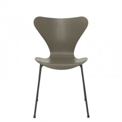 Fritz Hansen Series 7 Chair 2020,  3107 ( 4 Legs) Ash Color
