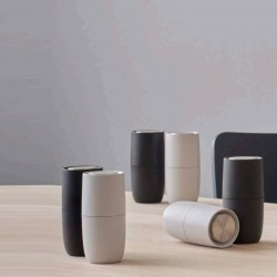 Stelton Foster Salt & Pepper Mill Light Grey/Anthracite