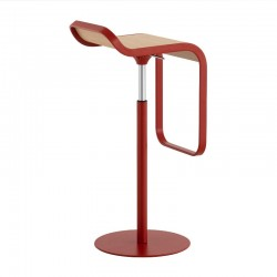 LaPalma Lem Stool Powder Coated Frame