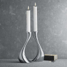 Georg Jensen Cobra Candle Holder Set