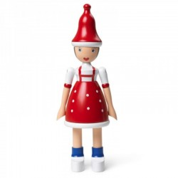 Kay Bojesen Christmas Lise Red/Blue/white