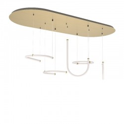 Petite Friture Unseen Suspension System 5 Pendants