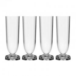 Kartell Set of 4 Champagne...