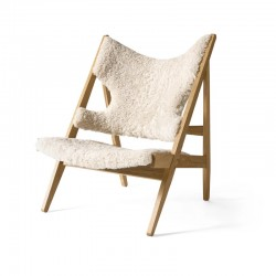 Menu Knitting Chair Sheepskin