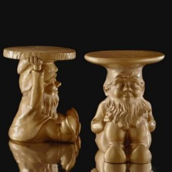 Kartell Napoleon Gnome Table Stool Gold