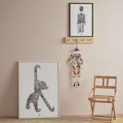 Kay Bojesen Monkey Poster