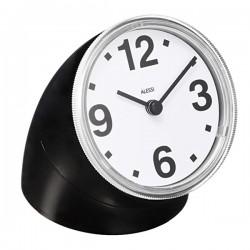 Alessi Cronotime Clock Black