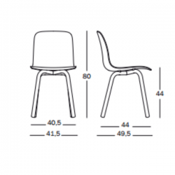Magis Substance Chair Aluminium