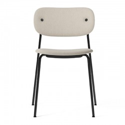 Menu CoCo Chair, fully upholstered, Black Chair