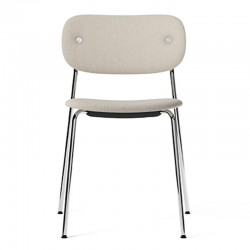 Menu CoCo Chair, fully upholstered, Chrome Chair