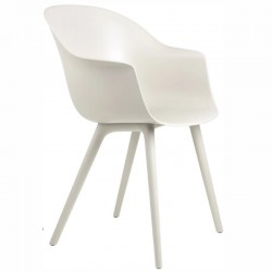 Gubi Bat Dining Chair, Plastic Edition