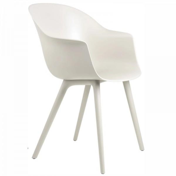 Gubi Bat Dining Chair, Plastic Edition