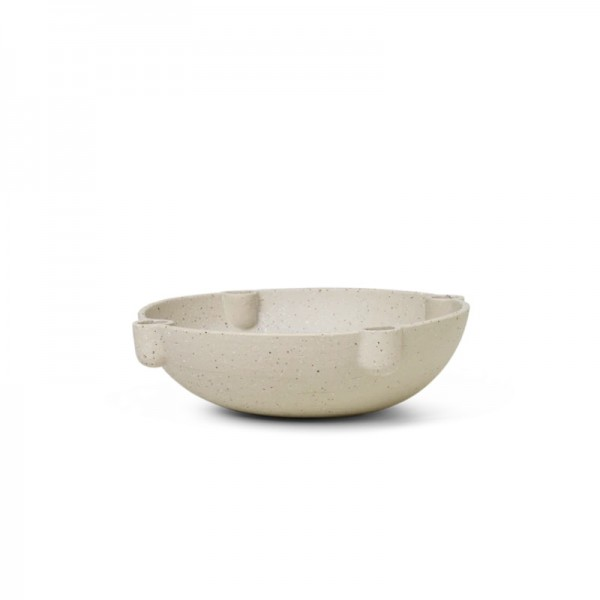 Ferm Living Bowl Candle Holder - Ceramic