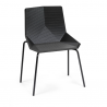 Mobles 114 Green Stacking Chair