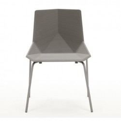 Mobles 114 Green Stacking Chair Beige grey