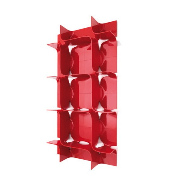 Magis Tide Shelving System Red