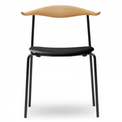 Carl Hansen & Søn CH88P Chair Upholstered Leather Thor