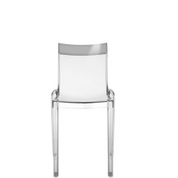 Kartell Hi-Cut Chair Crystal - Fume