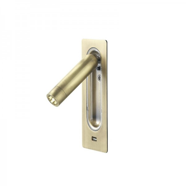 Marset Ledtube RSC USB Wall Light