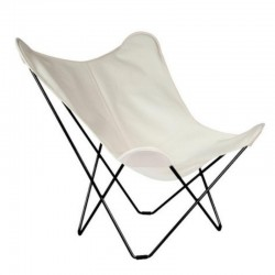 Cuero Design Outdoor Sunbrella Butterfly Chair – Sunshine Mariposa