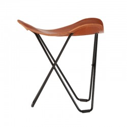 Cuero Design Leather Stool – Flying Goose