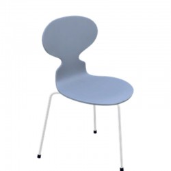 Fritz Hansen Ant Chair Colored Ash 3100 (3 Legs)