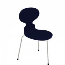 Fritz Hansen Ant Chair Lacquered 3100 (3 Legs)