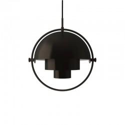 Gubi Multi-lite Pendant Lamp Black/Brass