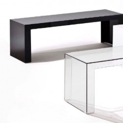 Kartell Invisible Side Table Low