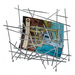 Alessi Blow Up Magazine Rack