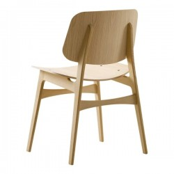 Fredericia Soborg Chair Wood Frame