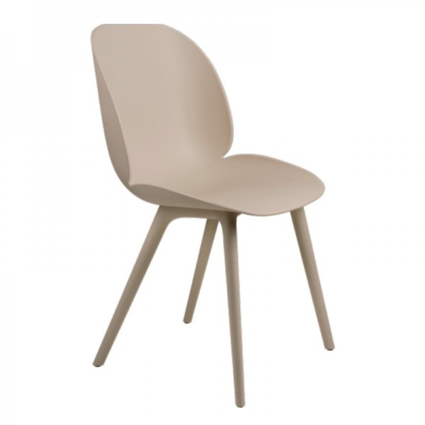 Gubi Dining Beetle Chair, Plastic Edition Outdoor