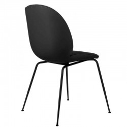 Gubi Beetle Chair Front Upholstered Shell Conic Base