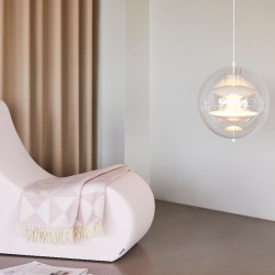 Verpan VP Globe Warm Peach Pendant Light