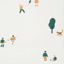 Ferm Living Park Wallpaper