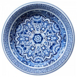 Moooi Delft Blue Plate Signature Carpet