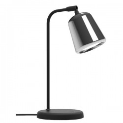 New Works Material Table Lamp - Stainless Steel